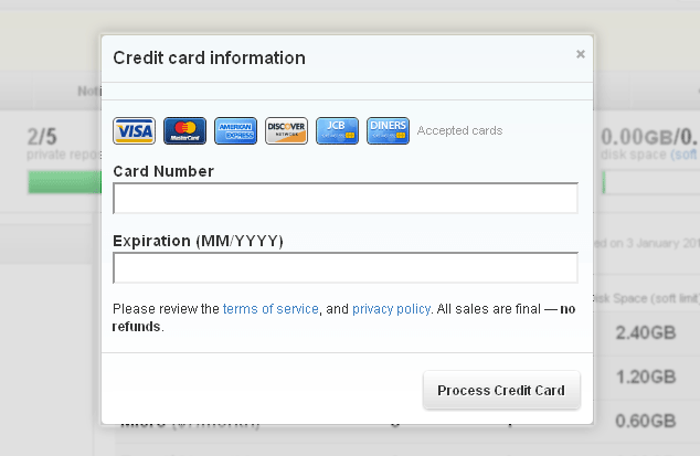 Auto-detecting Credit Card Type - Web Standards Sherpa
